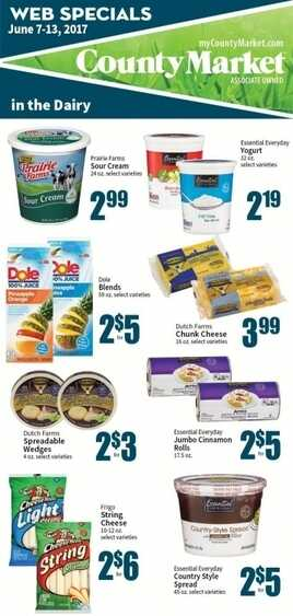 county fresh market weekly ad