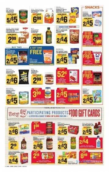 food lion weekly ads north carolina