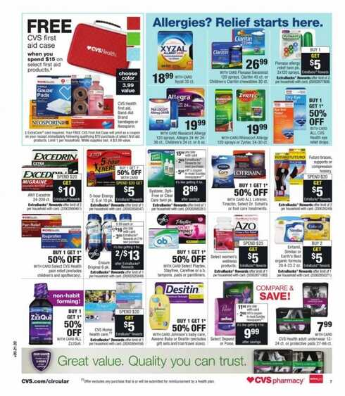 cvs weekly ad florida 6 28 to 7 1 2017 in this weeek page 4 of 5
