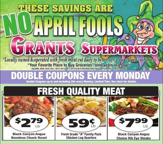 grants weekly ad sale april 2017 from 4/1 to 4/7 2017