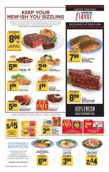 food lion weekly ad Kentucky Georgia Delaware 1/25 to 1/30 2018