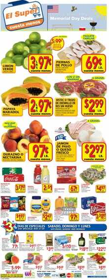 el super weekly ads see the new weekly ads 5/27 to 5/30 2017