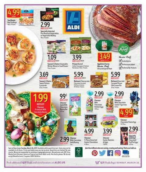 Aldi Flyer March   Sunday March  In Usa Weekly Ads