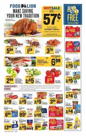 food lion weekly ad beaufort sc valid to 11/14 2017