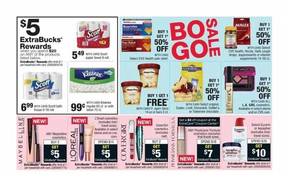 cvs weekly ad sunday paper 2/18 to 2/24 2018