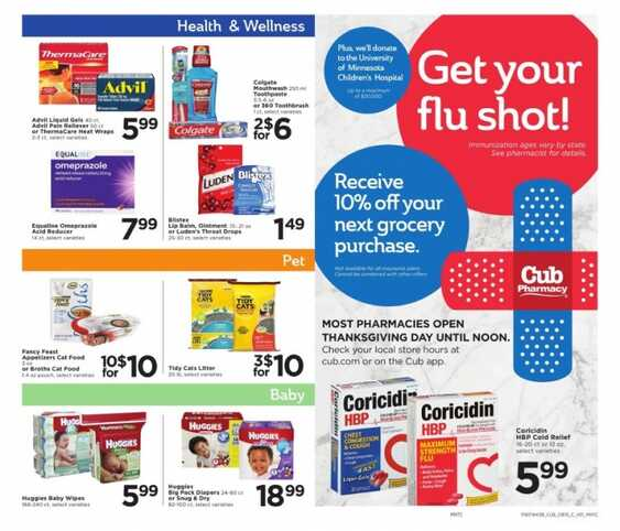 Cub Food Pharmacy Hours