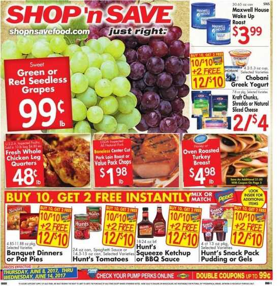 shoprite hours on thanksgiving day