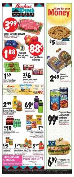 bashas weekly sale ad 10/11/17 to 10/17/17 More for your Money