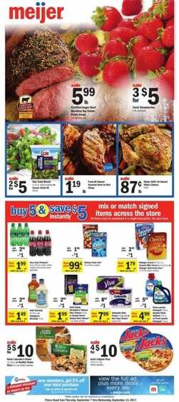 meijer weekly ad wisconsin 9/7 to 9/13 2017 in WI State