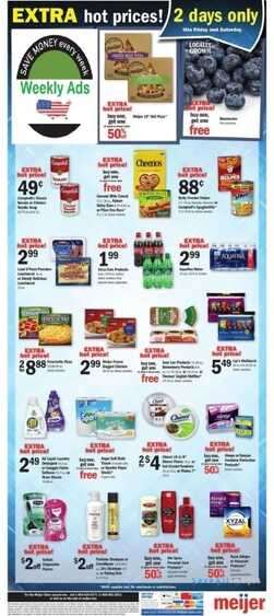meijer 2 day sale this weekend