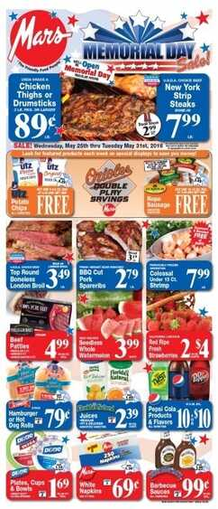 Mars Food Weekly Flyer 25-5-2016