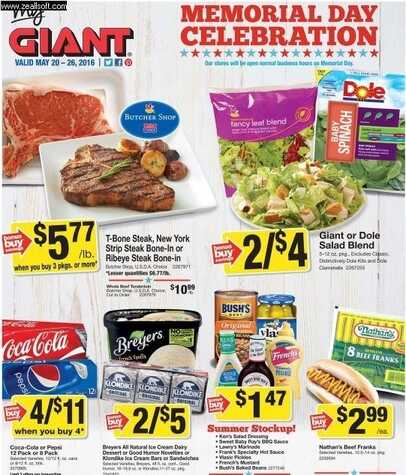 Giant Market Offers and Promotion