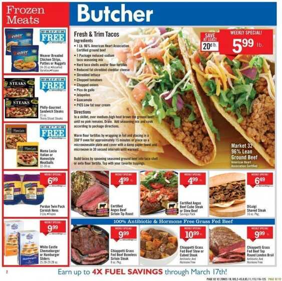 price chopper weekly ad montrose pa 116 to 120 2018 weekly ads