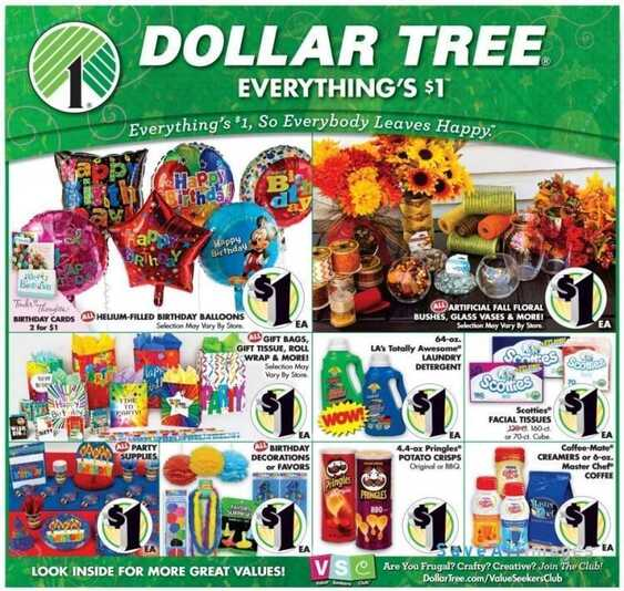 Dollar Tree Ad This Week August 14 Valid To 27 2017 Weekly Ads