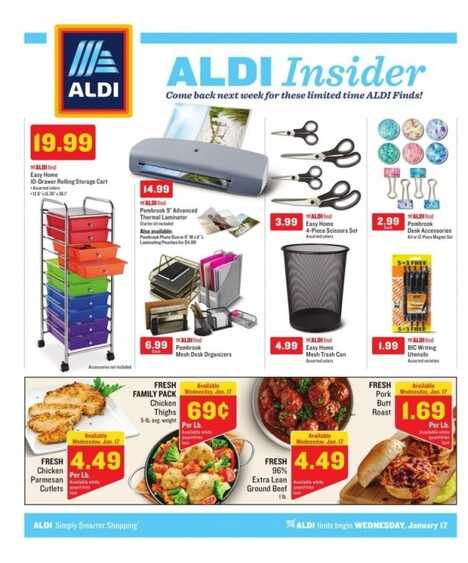 aldi weekly ad 1/17 to 1/23 2018 ALDI Insider