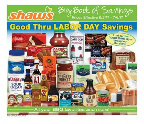 shaws weekly ad from today until 7/6 2017 - weekly ads