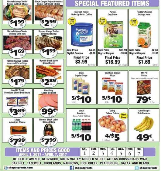 grants weekly ad april 2017 from 4/1 to 4/7 2017