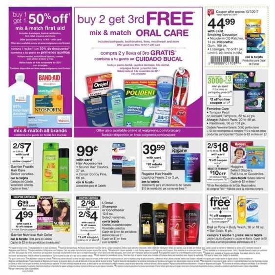 walgreens weekly ad illinois 10/1 to 10/7 2017 in IL State