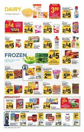 Current ad Food Lion 6/5/17