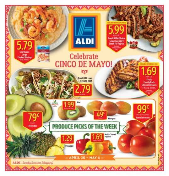 aldi grocery ads this week valid to 5/6 2017 - weekly ads