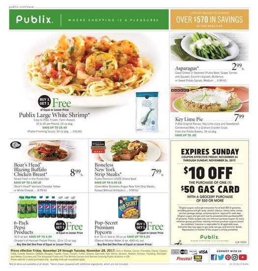 publix black friday sale