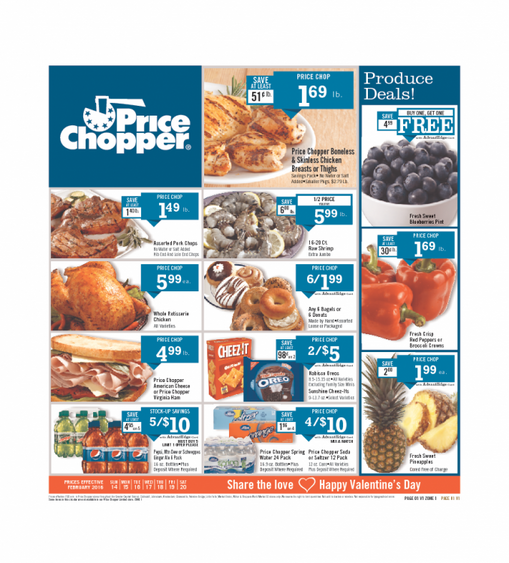 Price Chopper Weekly Ad Kansas City 1422016 weekly ads