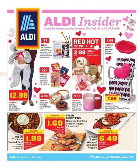aldi weekly ad aldi insider january 28 2018