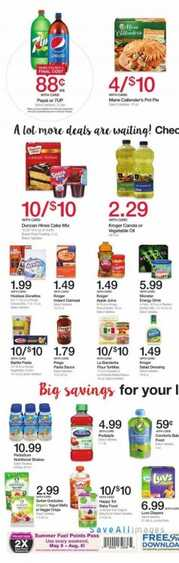 baker's weekly grocery ads 6/1 to 6/6 2017 in USA