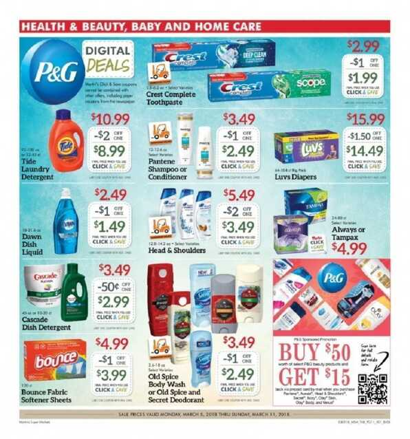 martin's weekly ad circular March 2018 5/6 to 5/11 2018
