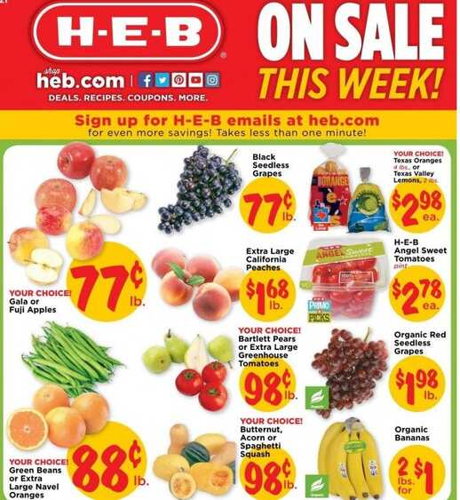 heb weekly sales valid from today until oct 11 2016