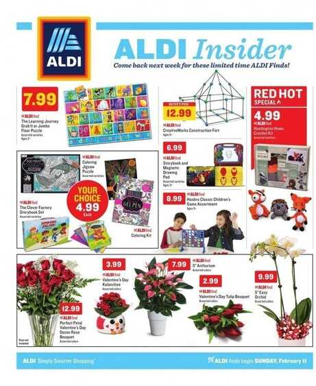 aldi supermarket weekly ad valentines day to 2/17 2018