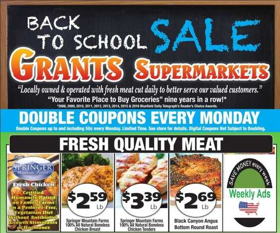 grants supermarket ad back to school valid to 8/18 2017