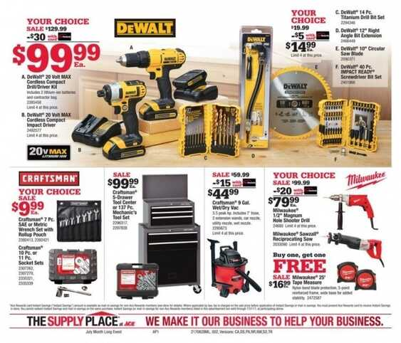 ace hardware store ads valid to 7/31 2017 in USA