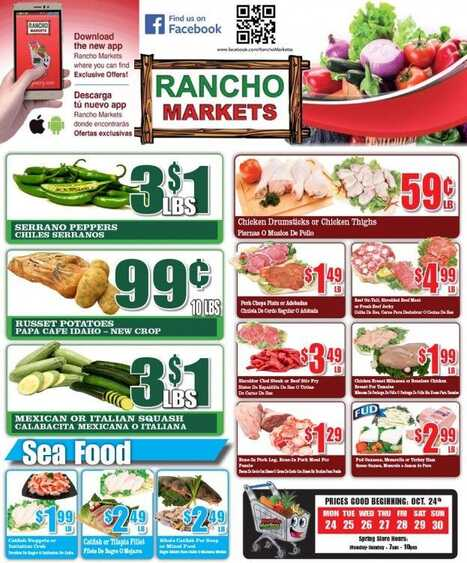 Rancho Market Ad Valid Until October 30 2016 Weekly Ads