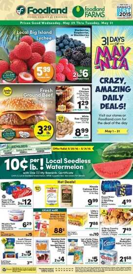 Food Land Promotion and Offers