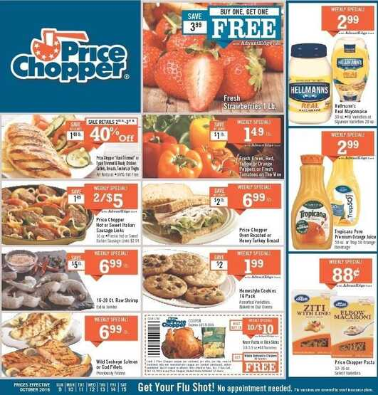 price chopper flyer next week valid until Oct 15 2016 weekly ads