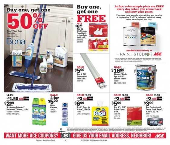 ace hardware monthly ad valid until 2/28/2017