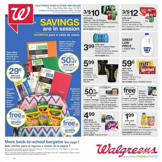 walgreens weekly ads chicago il