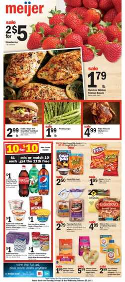 meijer weekly ad 2/14/2017 in USA Big Offers for this week
