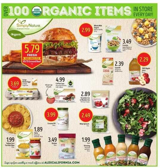 aldi weekly ad springfield il for this week valid to August 15 2017