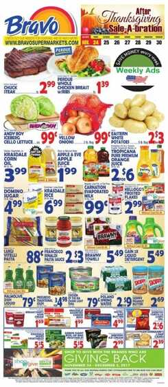 bravo weekly ad after thanksgiving
