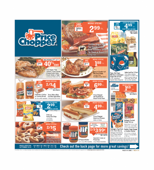 Price Chopper Ads Kck 4-9-2016