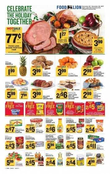 food lion weekly ad smithville tn