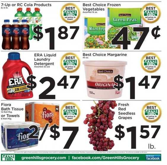 green hills weekly ad valid to December 13 2016