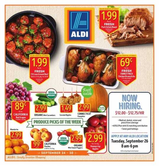 aldi weekly ad coupon FL State