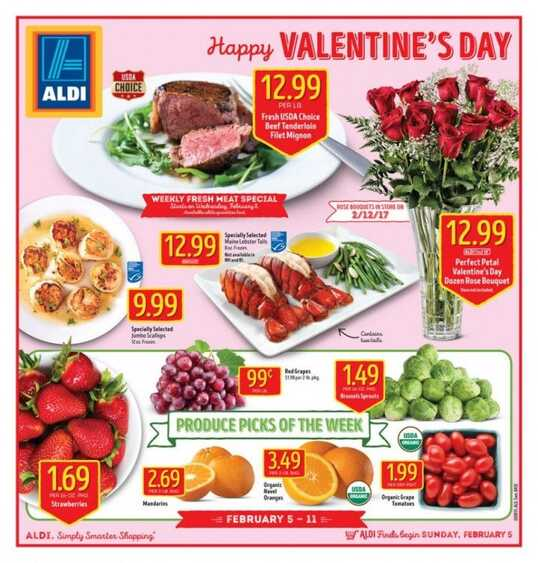 aldi valentine's day flowers