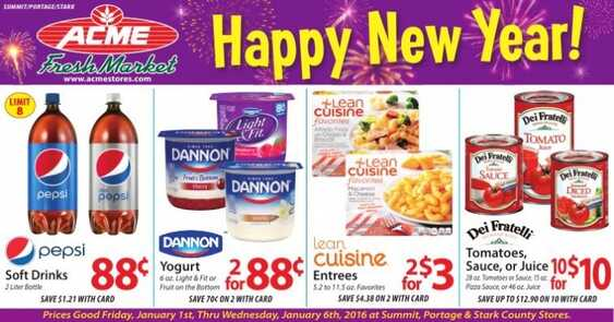 acme weekly ads 1-1-2016