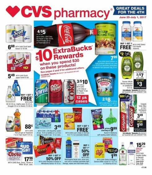 cvs circular ad this week ca valid to july 1 2017