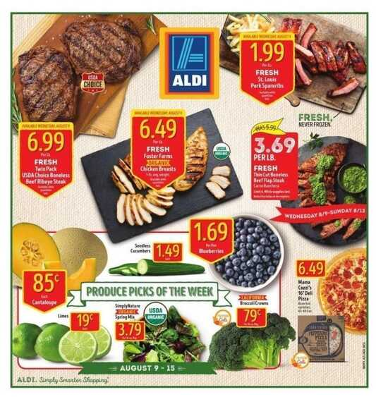 aldi weekly ad aug 9 2017 valid to august 15 2017