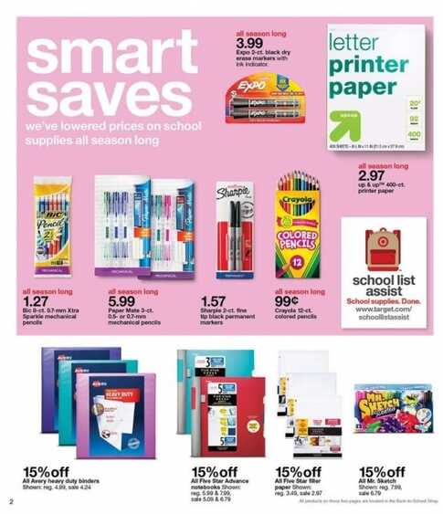 Target is a multi-product retailer offering home goods, clothing, electronics, and much more across the United States. The store's weekly ad will lead you to the latest store deals and savings. You can also save 5% on your purchases by signing up for a store REDcard.